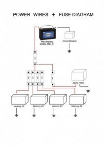 E46 電源配線