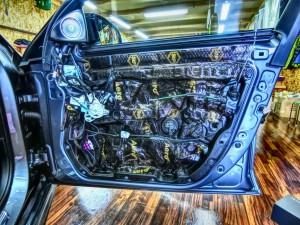E63 W213 ドア デッドニング