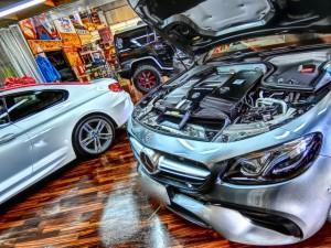 E63 AMG 3Dツイーター