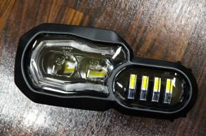 F800GS LEDヘッドライト