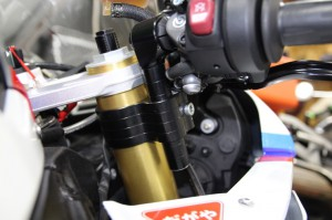 CONVERTIBAR S1000RR ハンドル交換 ハンドルポジション セパハン