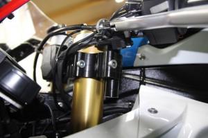 CONVERTIBAR S1000RR ハンドル交換 ハンドルポジション SBK