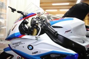 CONVERTIBAR S1000RR ハンドル交換 ハンドルポジション スーパーバイク