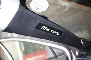 アクア スピーカー交換 mercury c62 ツイーター埋込 ホットワイヤード ロゴ埋込