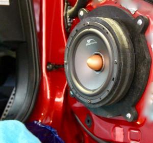 アクセラ 純正BOSE スピーカー交換 音質向上 9スピーカー ボーズサウンド スピーカー交換 インナーバッフル MERCURY C62