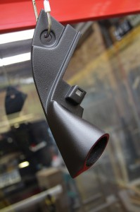 R35 GTR BOSE ツイーター交換 埋込 加工取付
