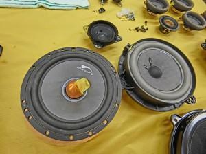 R35 GTR 純正BOSEサウンド 音質向上 スピーカー交換