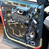 プジョー5008 スピーカー交換 音質向上 ツイーター埋込