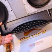 MCR-805 パワードウーハー MERCURY CAR AUDIO ホットワイヤード 8インチ アンプ内蔵ウーハー
