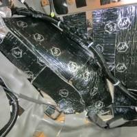 R35 GTR デッドニング リアシート フロア STP ホットワイヤード 静穏化 ロードノイズ 名古屋