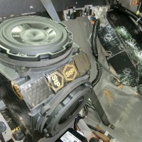 R35 GTR 純正BOSE デッドニング サブウーハー交換の方法