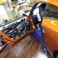 R35 GTR 純正BOSE デッドニング スピーカー交換の方法