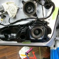 Audi A6 純正BOSE スピーカー交換