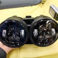 ビューエル BUELL XB LED ヘッドライト カスタム HOT WIRED