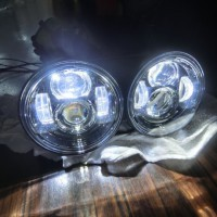BUELL LED HEAD LIGHT HI/LO DRL HOT WIRED