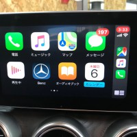 W205 BENZ Cクラス CarPlay ANDROID AUTO mirroring ミラーリング 外部入力 AUX ACTIVATE 有効化 コーディング HOT WIRED 名古屋