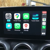 W222 ベンツ Sクラス CarPlay ANDROIDAUTO mirroring ミラーリング 外部入力 AUX ACTIVATE 有効化 コーディング HOT WIRED 名古屋