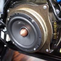 LEXUS RC350 スピーカー交換 HARMAN  サブウーハー交換 デッドニング センタースピーカー MERCURY C62