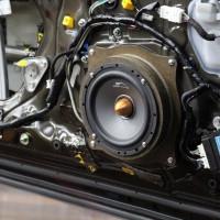 LEXUS RC350 スピーカー交換 HARMAN  サブウーハー交換 デッドニング センタースピーカー交換