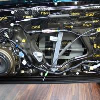 LEXUS RC350 スピーカー交換 HARMAN  サブウーハー交換 デッドニング ツイーター