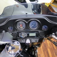 ハーレー ツーリングモデル FHLT スピーカー取付 音質向上 ホットワイヤード