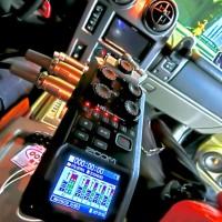 Z00M ハンディレコーダー H6 車 バイク 排気音録音 マフラーの音 ホットワイヤード 名古屋 オンボード