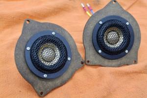 w205 w213 w222 ドアスピーカー交換 インナーバッフル ベンツ専用スピーカーセット