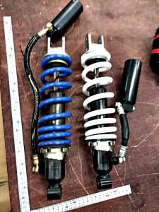 buell xb12s フロントフォーク オーバーホール シール交換 リアショック オイル交換 スプリング交換 オイルシール