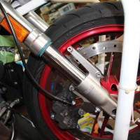 buell フロントフォーク オーバーホール シール交換 フォークオイル交換 skf スプリング交換 HOT WIRED 名古屋