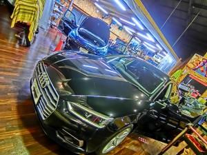 Audi A5 ANDROID RTA DSP サウンドセッティング 音調整 韓国製 イコライザー調整 タイムアライメント クロスオーバー 音質向上 ホットワイヤード HOT WIRED 名古屋