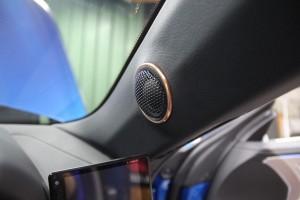 BMW スピーカー交換 ツイーター取付 音質向上 ツイーター埋込 HOT WIRED 名古屋 MERCURY CAR AUDIO CE-165 TWEETER