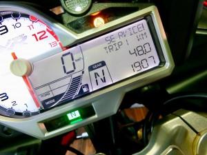 BMW S1000XR S1000R S1000RR R1200 R1250 SERVICE SERVICE! サービスランプ 警告 警告灯 リセット RESET