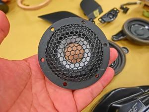 Audible Physics RAM2 ワイドレンジドライバー ワイドレンジスピーカー 2Iインチ M40 スコーカー AUDI純正BOSE スピーカー交換 ドアスピーカー 交換 ツイーター交換 アウディ A8 A6 A5 A4