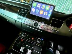 アウディ純正BOSE Apple CarPlay AndroidAuto ミラーリング ワイヤレス スピーカー交換 YOUTUBE HOT WIRED 名古屋 ホットワイヤード