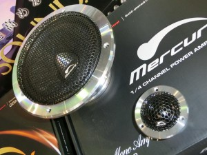 Mercury Car Audio K62 スピーカー ツイーター ハイエンドカーオーディオ