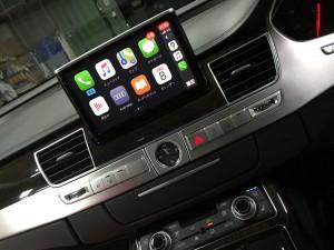 アウディ純正BOSE Apple CarPlay ミラーリング YOUTUBE グーグルマップ
