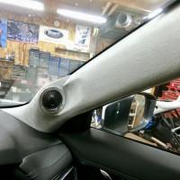 CX-5 スピーカー交換 ドアのデッド二ング 音質向上 HOT WIRED 名古屋 Mercury Car Audio ツイーター埋込