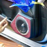 CX-5 スピーカー交換 アウターバッフル ツイーター埋込 Mercury Car Audio HELIX DSP HOT WIRED 名古屋