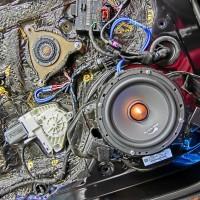 Audi A8 ツイーター交換 ツイーター埋込 スピーカー交換 AUDI純正BOSE