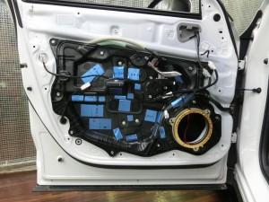 CX-5 正しいドアのデッドニングのやり方 制振 防音 静音 STP HOT WIRED ホットワイヤード 名古屋 車内の静音化 カーオーディオ スピーカー交換 BOSE インナーバッフル