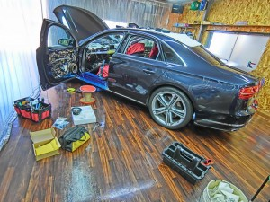 AUDI純正BOSE スピーカー交換 ドッドニング ツイーター スコーカー DSP MERCURY CAR AUDIO Audible Physics HOT WIRED ツイーター 純正ボーズ A8 A7 A6 A5 A4