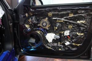 AUDI純正BOSE スピーカー交換 ドッドニング ツイーター スコーカー DSP MERCURY CAR AUDIO Audible Physics HOT WIRED ツイーター 純正ボーズ