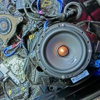 ミッドベース ウーハー ドアスピーカー   AUDI純正BOSE スピーカー交換 ドアスピーカー 交換 ツイーター交換 アウディ A8 A6 A5 A4 ウーハー エンクロージャー ANC Mercury Car Audio C62