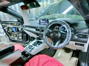CX-8 マツダ純正 BOSE スピーカー交換 ツイーター交換  音質向上 音質改善 デッドニング サウブーハー インナーバッフル センタースピーカー サラウンドスピーカー トランクデッドニング ツイーター 埋込加工 MERCURY CAR AUDIO ホットワイヤード 名古屋