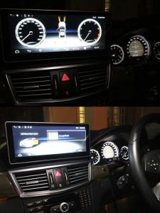 W212 BENZ ベンツ Eクラス Cクラス Sクラス 10.25インチ アンドロイドナビ アンドロイドナビモニター  Apple CarPlay YOUTUBE HOT WIRED ホットワイヤード 名古屋 コーディング