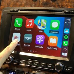 BENTLEY 純正ナビ 後付けCarPlay Apple CarPlay AndroidAuto ミラーリング iPhone コーディング インターフェース 名古屋 ホットワイヤード HOT WIRED カーオーディオ専門店 カープレイ モジュール