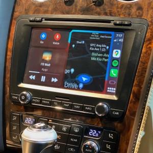 BENTLEY 純正ナビ 後付けCarPlay Apple CarPlay AndroidAuto ミラーリング iPhone コーディング インターフェース 名古屋 ホットワイヤード HOT WIRED カーオーディオ専門店