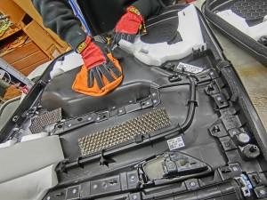 CX-8 マツダ純正 BOSE スピーカー交換 ツイーター交換  音質向上 音質改善 デッドニング サウブーハー インナーバッフル センタースピーカー サラウンドスピーカー トランクデッドニング ツイーター 埋込加工 MERCURY CAR AUDIO