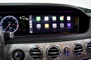 W222 Sクラス 前期 W205 W213 NGT5.5 NTG5.0 NTG4.7 NTG4.5 後付けCarPlay ワイヤレスCarPlay ワイヤレスミラーリング AndroidAuto CarPlayインターフェース CarPlayモジュール Apple CarPlay iPhone ディスプレイオーディオ コーディング
