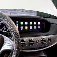 W222 W205 W213 NGT5.5 NTG5.0 NTG4.7 NTG4.5 後付けCarPlay ワイヤレスCarPlay ワイヤレスミラーリング AndroidAuto CarPlayインターフェース CarPlayモジュール Apple CarPlay iPhone ディスプレイオーディオ ホットワイヤード 名古屋 コーディング